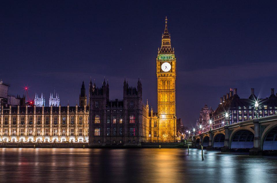 London night (Westminster City)
